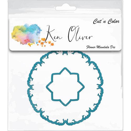 Ken Oliver - Cut 'n Color - Die - Flower Mandala
