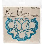 Ken Oliver - Cut 'n Color - Die - Butterfly Daisy Mandala