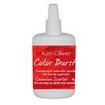 Ken Oliver - Color Burst - Cadmium Scarlet Watercolor Powder