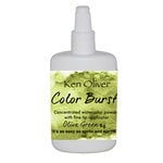 Ken Oliver - Color Burst - Olive Green Watercolor Powder
