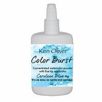 Ken Oliver - Color Burst - Cerulean Blue Watercolor Powder