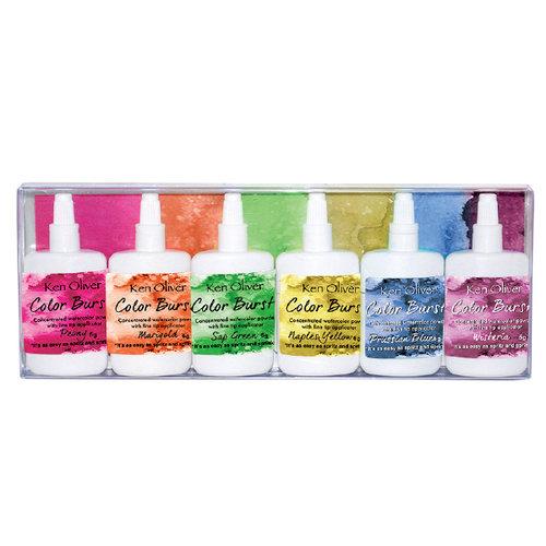 Ken Oliver - Color Burst - Fresh Florals - 6 Pack