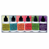 Ken Oliver - Color Burst - Liquid Metals - Shimmering Gems - 6 Pack