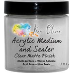 Ken Oliver - Acrylic Medium and Sealer - Clear Matte Finish