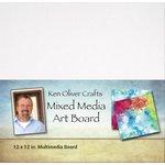 Ken Oliver - Mixed Media - Art Board - 12 x 12