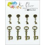 Ken Oliver - Metal Charms - Vintage Mini Keys