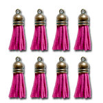 Maya Road - Vintage Crafting Tassels - Fuchsia Pink