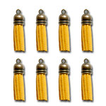 Maya Road - Vintage Crafting Tassels - Saffron Yellow