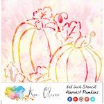 Ken Oliver - 6 x 6 Stencil - Harvest Pumpkins