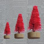 Maya Road - Bottle Brush Trees - Hot Pink