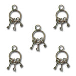 Maya Road - Vintage Mini Key Ring Charms