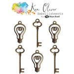 Ken Oliver - Maya Road - Vintage Charms - Bulbs and Keys