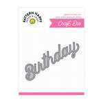 Pattern Happy - Metal Dies - Word - Birthday