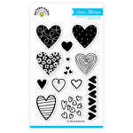 Pattern Happy - Clear Acrylic Stamps - All Heart