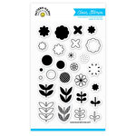 Pattern Happy - Clear Acrylic Stamps - Bloom Builder