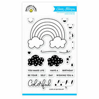 Pattern Happy - Clear Acrylic Stamps - Colorful Day