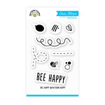 Pattern Happy - Clear Acrylic Stamps - Bee Happy