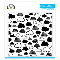 Pattern Happy - Clear Acrylic Stamps - Cloudy Day Pattern