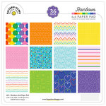 Pattern Happy - 6 x 6 Paper Pad - Rainbows