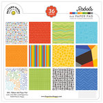 Pattern Happy - 6 x 6 Paper Pad - Robots