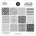 Pattern Happy - 6 x 6 Paper Pad - Color Me