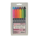Kuretake - ZIG - Fudebiyori - Brush Marker - 12 Piece Set
