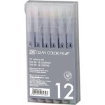 Kuretake - ZIG - Clean Color - Brush Marker - 12 Piece Set - Pure