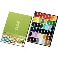 Kuretake - Gansai Tambi - Solid Watercolors - 48 color set