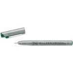 Kuretake - ZIG - Memory System - Millennium Pen - Pure Green - .35mm