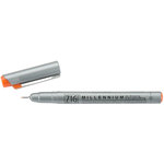 Kuretake - ZIG - Memory System - Millennium Pen - Pure Orange - .35mm