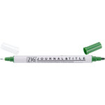 Kuretake - ZIG - Memory System - Dual Tip Journal and Title Marker - Evergreen
