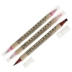 Kuretake - ZIG - Memory System - Dual Tip Journal and Title Marker - 3 Piece Set - Heart