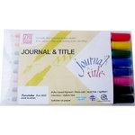 Kuretake - ZIG - Memory System - Dual Tip Journal and Title Premium Marker - 8 Piece Set