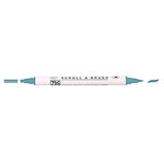Kuretake - ZIG - Memory System - Dual Tip Scroll and Brush Marker - Teal