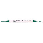 Kuretake - ZIG - Memory System - Dual Tip Scroll and Brush Marker - Pure Green