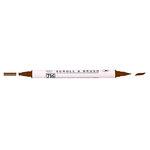 Kuretake - ZIG - Memory System - Dual Tip Scroll and Brush Marker - Chocolate