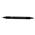 Kuretake - ZIG - Memory System - Dual Tip Writer for Vellum Pen - Pure Black