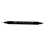 Kuretake - ZIG - Memory System - Dual Tip Writer for Vellum Pen - Pure Orange