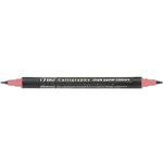 Kuretake - ZIG - Memory System - Dual Tip Calligraphy Marker - Chalk Pastel Colors - Pink