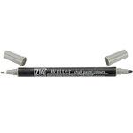 Kuretake - ZIG - Memory System - Dual Tip Writer Marker - Chalk Pastel Colors - Grey