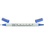 Kuretake - ZIG - Memory System - Dual Tip Writer Marker - Pure Blue