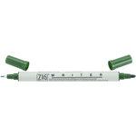 Kuretake - ZIG - Memory System - Dual Tip Writer Marker - Pure Green