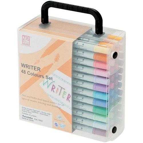 Kuretake - ZIG - Memory System - Dual Tip Writer Marker - 48 Piece set