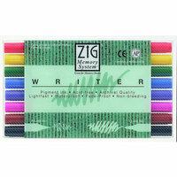 Kuretake - ZIG - Memory System - Dual Tip Writer Marker - 8 Piece Set