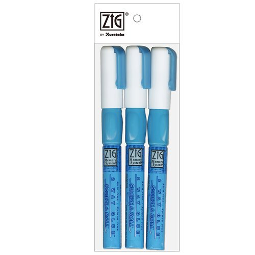 Kuretake - ZIG - Memory System - 2 Way Glue - Squeeze and Roll - 3 Piece Set