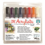 Kuretake - ZIG - Acrylista - Chisel Tip Marker - 8 Piece Set - Modern
