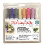 Kuretake - ZIG - Acrylista - Chisel Tip Marker - 8 Piece Set - Baby