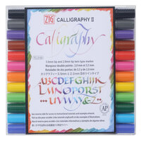 Kuretake - ZIG - Calligraphy 2 - Dye Ink 12 Color Set