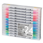 Kuretake - ZIG - Clean Color -Dual Tipped Marker - 24 Piece Set