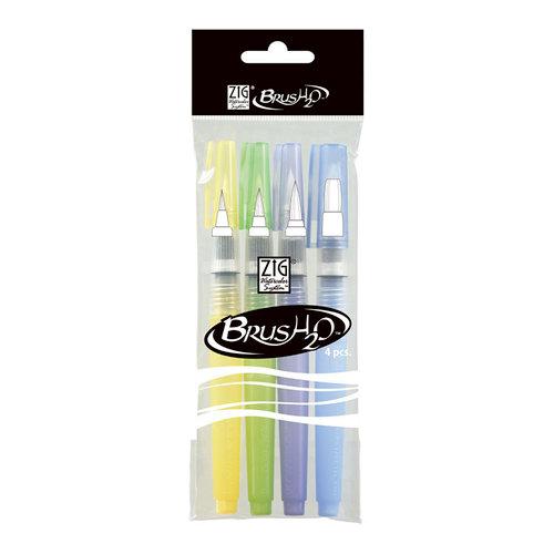 Kuretake - ZIG - Watercolor System - BrusH2O - 4 Pack